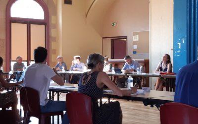 Réunion du Conseil Municipal du 25 juin 2020