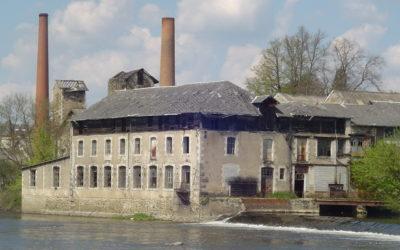 L'usine des Seilles et les bords de Vienne, un dossier à l'arrêt.